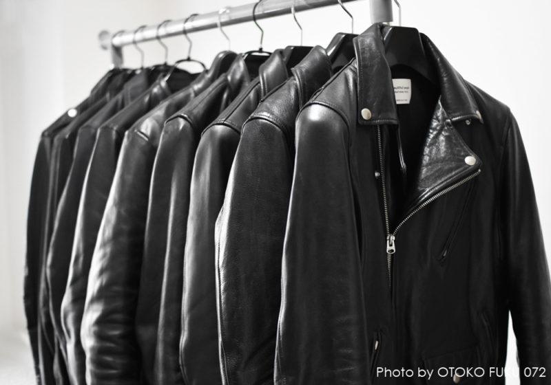 ライダースジャケットのコレクション