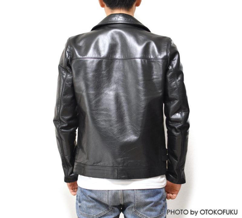 UNDERCOVER(アンダーカバー)ライダースジャケット UCA4201の着用イメージ