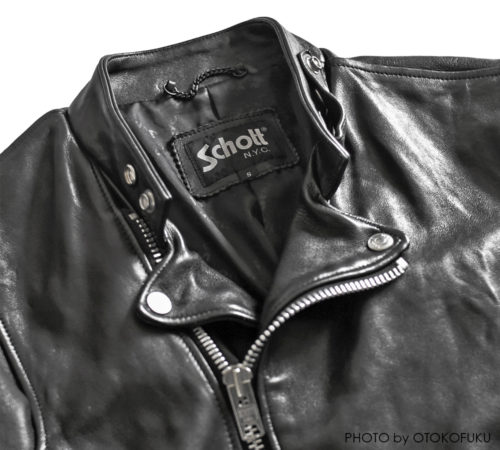 Schott×FREAK'S STORE 別注セミダブルライダースジャケット