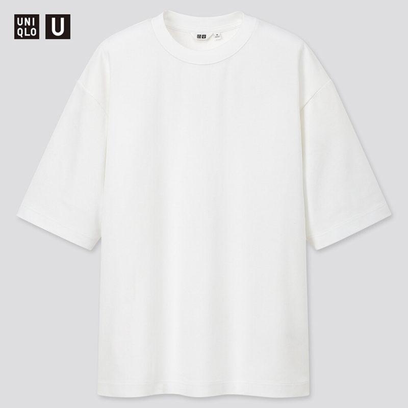 UNIQLO U エアリズムコットンオーバーサイズTシャツ