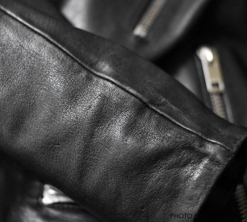 DIESEL(ディーゼル)のライダースジャケットのディテール