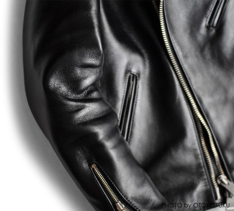 オーダーしたiade leatherのライダースジャケットの経年変化