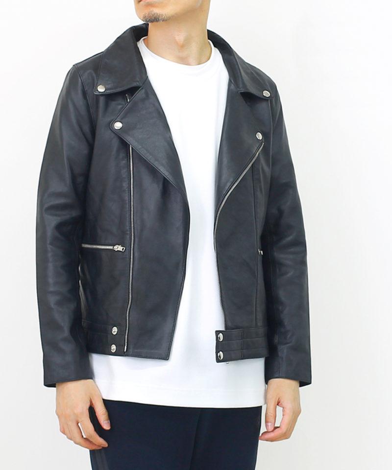 神戸パティーナのレザーライダースジャケット