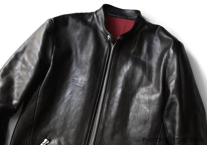 バックラッシュのライダースジャケットの経年変化