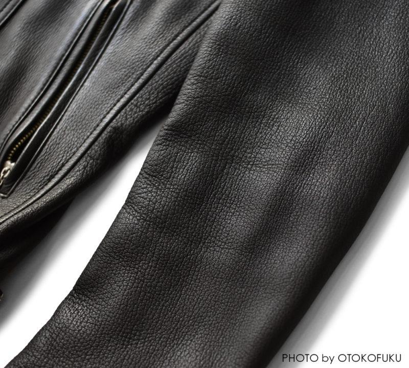 ルードギャラリーブラックレベルのライダースジャケットの経年変化