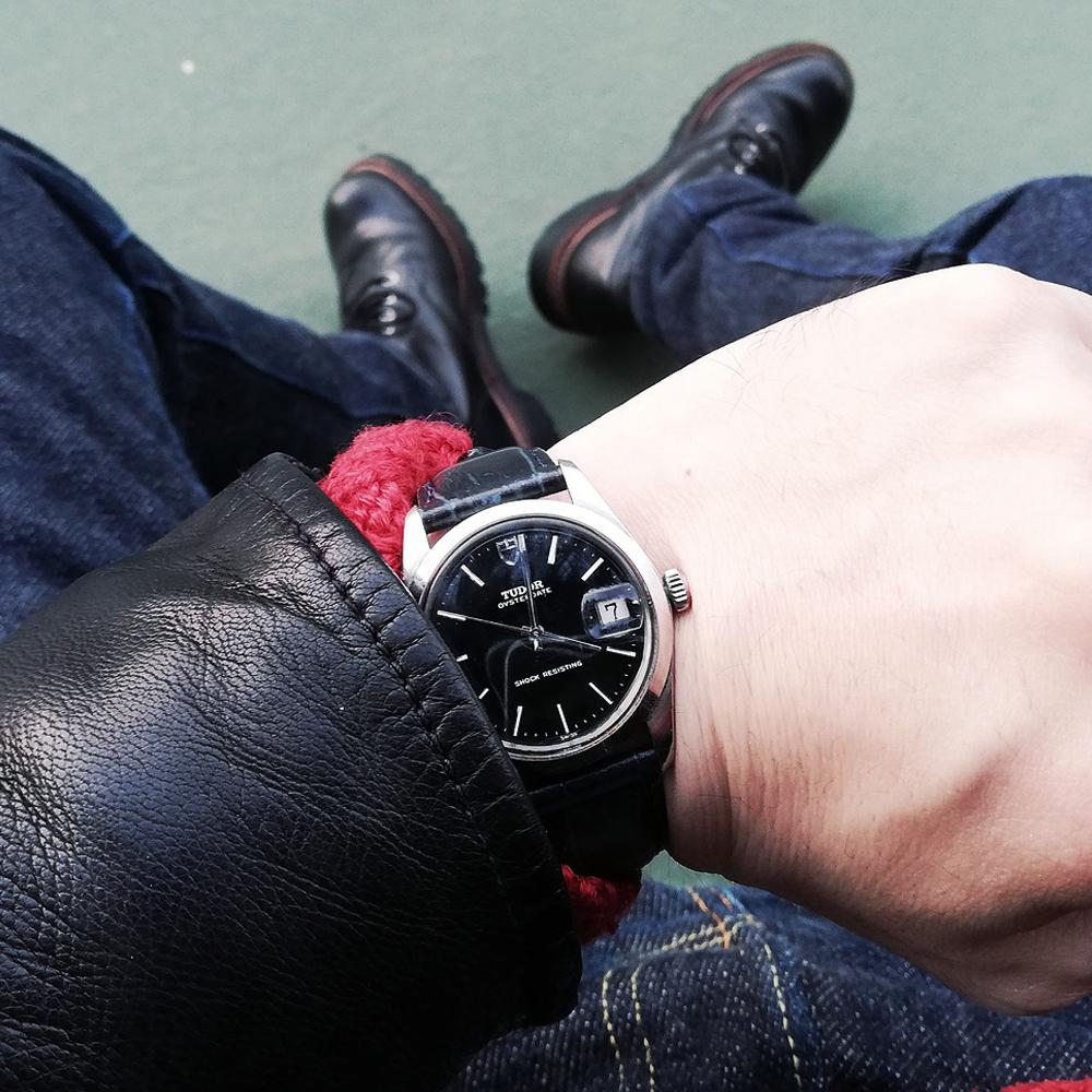 革ジャン好きが愛用する腕時計