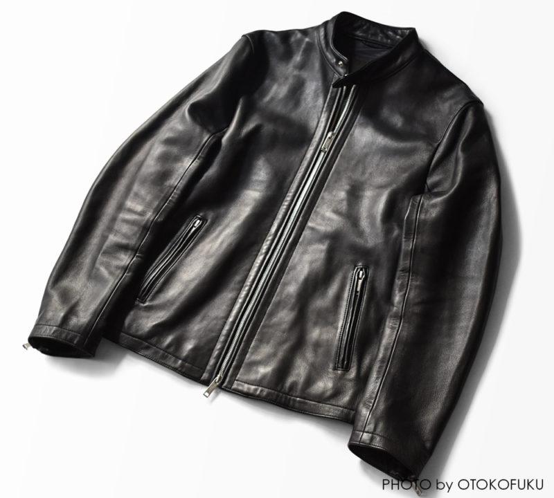 ラムレザーを使用したライダースジャケットの経年変化