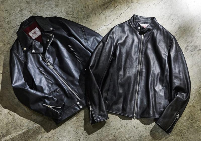 ジェームスグロースのレザージャケット
